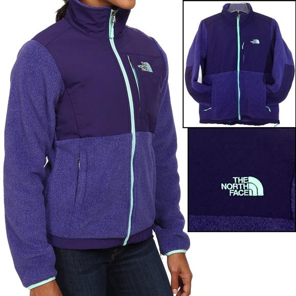2c27488e4 The North Face Denali Fleece Jacket Purple
